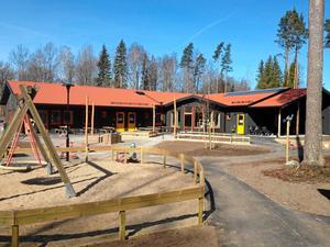 Förskolan Äventyret i Fjugesta invigs den 18 maj.