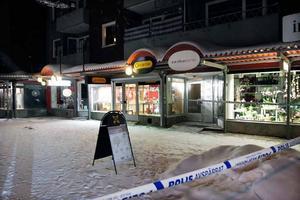 Guldfynd i Sandvikens utsattes för grov stöld på tisdagskvällen.