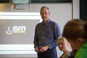 Sören Calleberg, projektledare för SM-veckan.