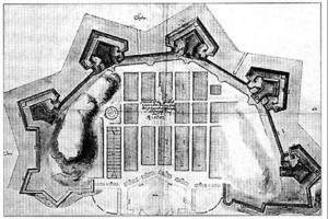 Plan till det första Göteborg 1609, En kalvinsk idealplan och den tidigaste rutnätplanen i Norden.
