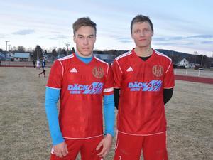 Lagkaptenen Kevin Dahlberg och tränaren Lars Nilsson räknar båda med ett starkare Hede den här sommaren.