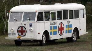 Vita bussarna räddade många flyktingar under andra världskrigets slutskede.