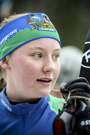 Hemmaklubbens Tua Dahlgren gjorde en imponerande insats och tog en tredjeplats i den inledande tekniksprinten.