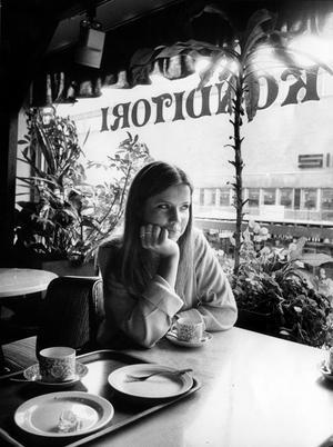 Det var då. Maria Wemmenhag på konditori Cleo 1983.
