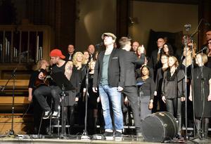 Takida uppträdde under konserten i GA-kyrkan.
