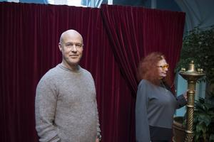 Stefan Sauk och Claire Wikholm.