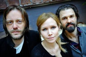 Niclas Frisk, Nina Persson och Nathan Larson.