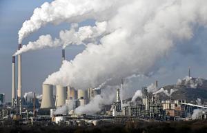 Koldioxidutsläpp.