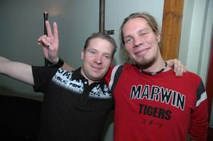 Konrad. Peter och Markus.