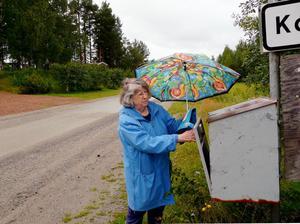 Felaktig adress ledde till inkassokrav. Två siffror saknades för att Sonja Tyréns post skulle komma rätt.