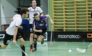 Pontus Mickelsson är en av flera spelare under 20 år som spelar i årets upplaga av Alfta.