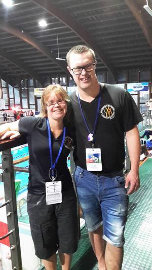 Caroline Näslund och Jens Carlsson.