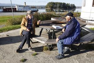 Ulf Olsson från Målsta och Örjan Bergqvist från Arvesund har bägge gamla ångbåtar som sitt stora intresse.