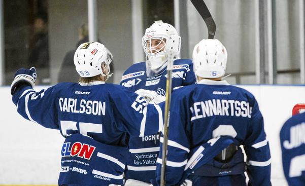 Christoffer Hanning, målvakt i Köping Hockey.