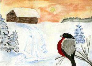 Tredje pris 11-16 år: Julia Albertsson, 12 år, Stugun.
