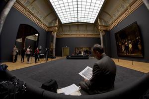 Se Rijksmuseum inifrån, efter tio år renoveringar.