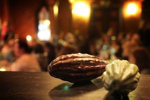 För länge sedan använde Mayaindianerna kakaobönor som betalmedel.
