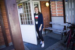 Närheten till asylboendet i Vågbro har många fördelar, tycker verksamhetschef Beatrice Maurin.