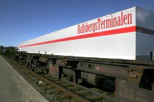 Ägarskifte på gång? Green Cargo kan komma att sälja sina andelar i Hallsbergsterminalen. Vad det innebär i så fall är inte sagt. I dag äger Green Cargo två tredjedelar och Hallsbergs kommun en tredjedel av kombiterminalen. Bild: STEFAN IGNELL.
