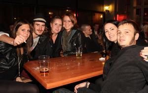 Bill & Bob. Jessika, Erik, Frida, Jenny, Malin (happy birthday) och Samuel