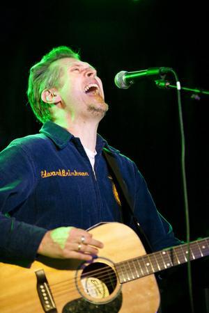 Steve Almaas, en av Ingemar Magnussons amerikanska musikervänner.