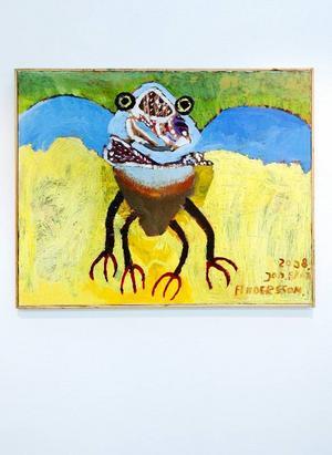 Jan-Arnes blåvingade, fyrbenta insekt eggar fantasin.