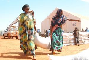En text om bistånd kräver den obligatoriska bilden som ska illustrera