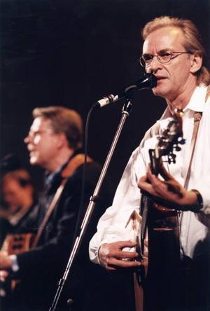 Björn Afzelius och Mikael Wiehe