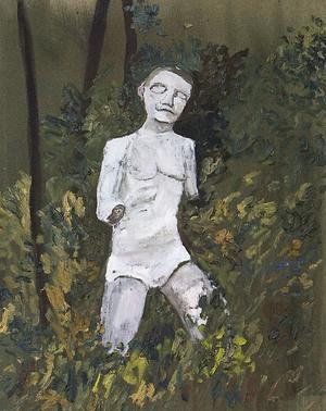 Maraton, målning av Hans Wigert.
