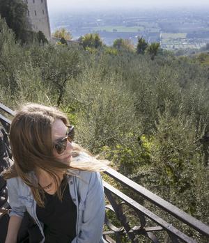 """Oväntade platser. """"Allt i Italien är vackert, även om du går vilse och hamnar på någon bakgata."""" Här i Assisi i Italien. Foto: Privat"""