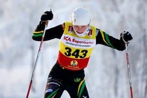 Signe Rosenberg, Duved, var en av de bästa åkarna från Jämtlands län med sin 22:a plats.