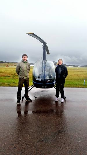Mattias Persson och Frida Flodin – två hälsingar med högtflygande planer.