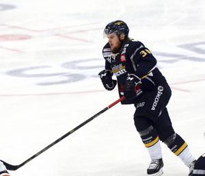 Borlänge HF fick se sig besegrat av Skövde. På bilden Dick Ahlström.