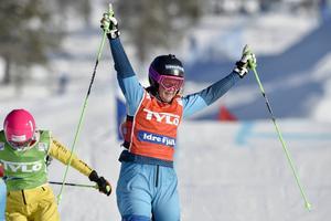 Anna Holmlund vann B-finalen.