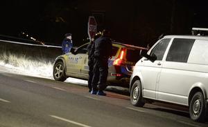 Mannen hittades bredvid vägbanan i centrala Stöde.