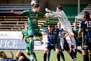Dalkurds mittback Alexander Ekblad ska visa upp sig för Brage.