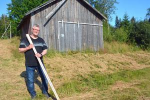 Tommy Sjölund, förbannad ordförande i Banafjäl Fiber.