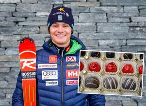 ÖFS-åkaren Max-Gordon Sundqvist förtjänar en chokladask eller annan tröstande julklapp. På träningen inför den planerade världscupdebuten skadade 22-åringen korsbandet så illa att säsongen befaras vara över.