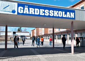 Gärdesskolan i Bollnäs.