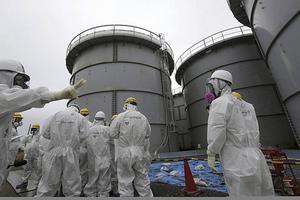 Vid olyckan 2011 läckte stora mängder radioaktivitet ut till atmosfären.