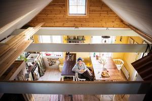 Familjen har allt de behöver på 38 kvadratmeter.
