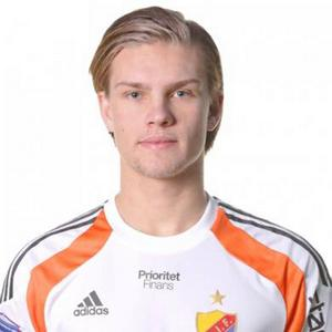 Oscar Jonsson från Vemdalen var väldigt nära att få göra debut på planen i Allsvenskan under Djurgårdens möte med Falkenberg i senaste omgången.