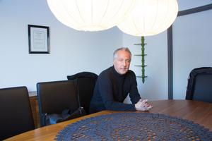 Mikael Mårtensson, som äger Miobutiken, har många idéer om hur handeln i Avesta skulle kunna utvecklas.