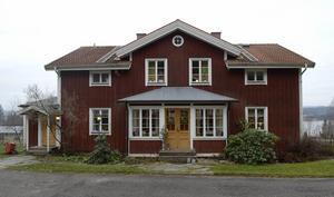 Cecilia och hennes sambo flyttade in i huset i Bergom för drygt två år sedan. Det har funnits i släkten i flera generationer.