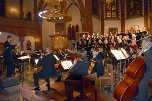 Sundsvalls Orkesterförening och tre körer välkomnade julen