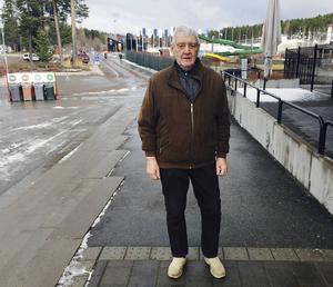 John Sohlberg håller nu på att skriva en bok om Svärdsjö.