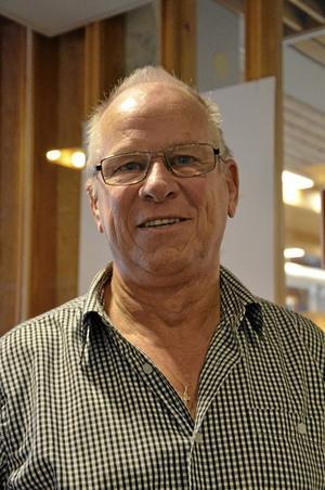 Cupansvarig. Lars-Erik Hulldin har varit med och arrangerat Ica Allés cup för damer sedan starten år 2001.