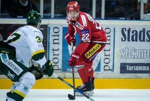 Emil Molin – Patrik Karlkvists favoritspelare i hockeyallsvenskan.
