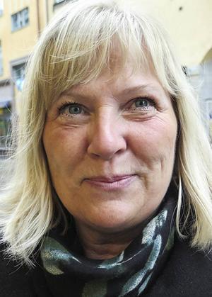Berit Sillstrand, 57   – För mig spelar det ingen roll, det har aldrig påverkat mig.