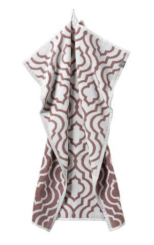 MÖNSTER. Handduken från Mio finns också i grått. Pris 79 kronor.